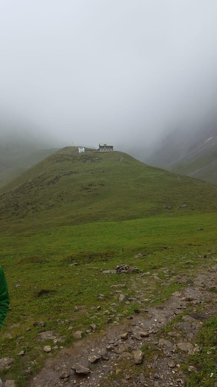 Alpenüberquerung Tag 2, Bschlabs – Anhalterhütte – Hahntennjoch