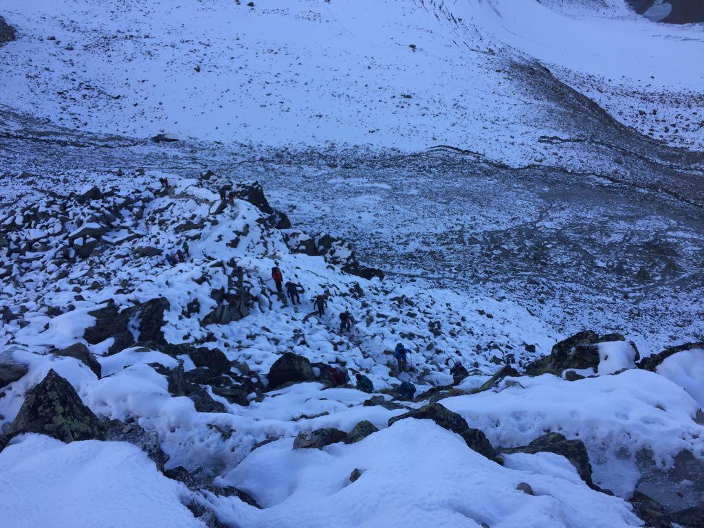 Tag 4 – Ausweichtour über den Weg der Besinnung nach Zwieselstein wegen Wintereinbruch